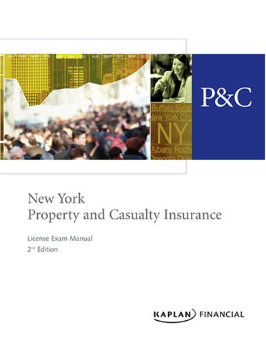 9781427760807: New York Property & Casualty Insurance License Exam Manual, 2nd Edition
