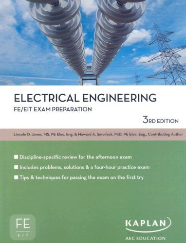 9781427761170: Electrical Engineering FE/EIT Exam Prep (Fe/Eit Exam Preparation)