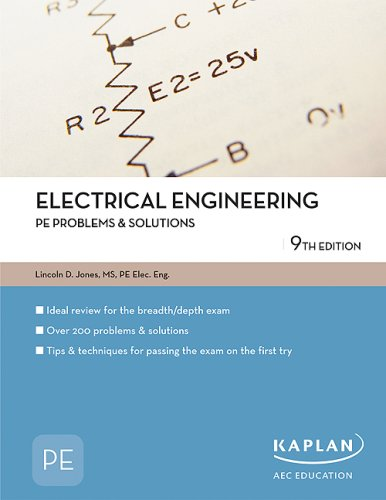9781427761309: Electrical Engineering PE Problems & Solutions (PE Exam Preparation)
