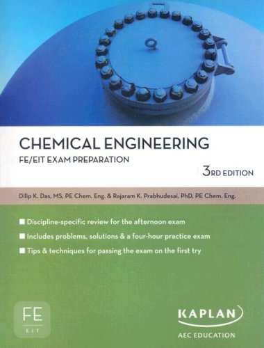 9781427761323: Chemical Engineering (FE/EIT Exam Preparation)