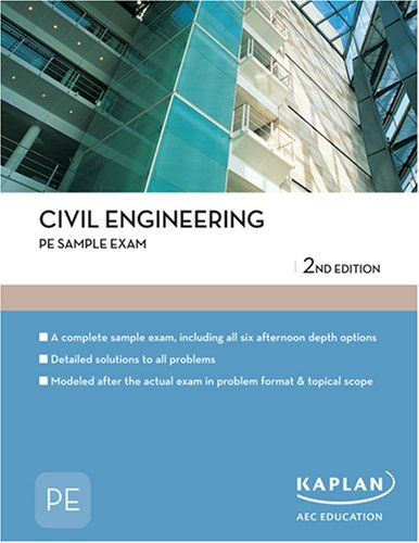Civil Engineering PE Sample Exam (PE Exam
