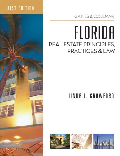 9781427762160: Florida Real Estate Principles, Practices, and Law
