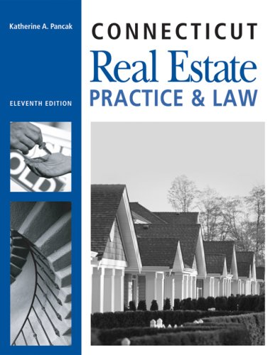 9781427765116: CT Real Estate Practice and Law (Connecticut Real Estate Practice & Law)