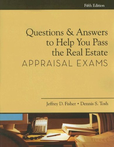 9781427766168: Questions and Answers to Help You Pass the Real Estate Appraisal Exam (Questions & Answers to Help You Pass the Real Estate Appraisal Exams)