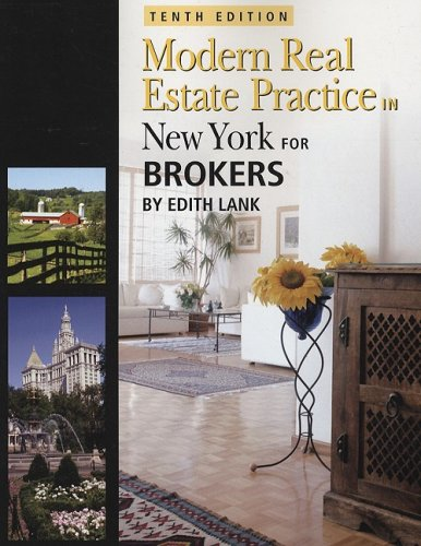 9781427768186: New York Modern Real Estate Practice for Brokers (Modern Real Estate Practice in New York For Brokers)