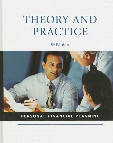 9781427769909: Personal Financial Planning Theory & Practice