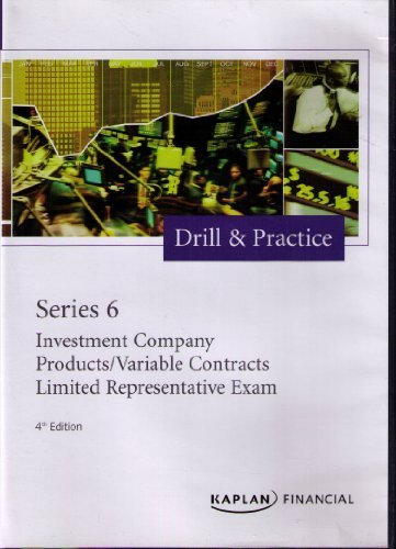 9781427770202: Series 6 Investment Company Products/Variable Contracts Limited Representative Exam