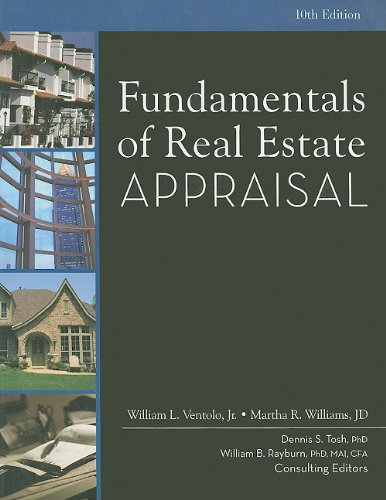Fundamentals of real estate appraisal by william l. Ventolo jr.