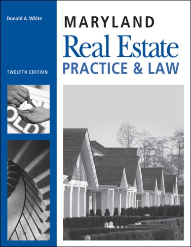 9781427779229: Maryland Real Estate Practice and Law (Maryland Real Estate Practice & Law)