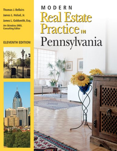 Modern Real Estate Practice in Pennslyvania: Thomas Bellairs, James