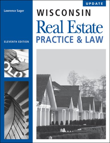 9781427779434: Wisconsin Real Estate Practice & Law, 11th Edition Update
