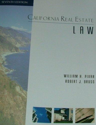 9781427785213: California Real Estate Law