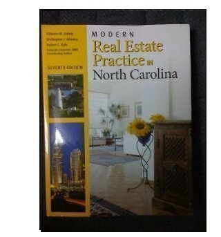 9781427785879: Modern Real Estate Practice in North Carolina