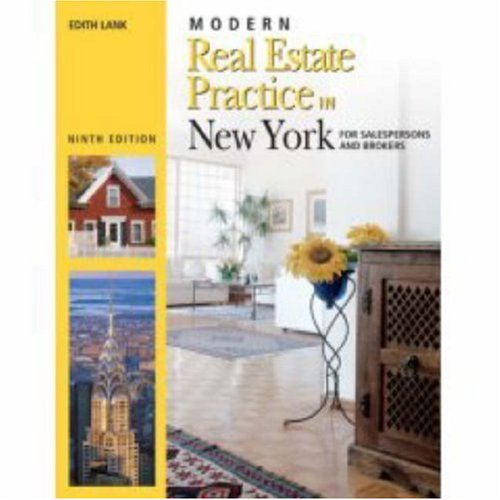 Modern Real Estate Practice in New York (142779586X) by Edith Lank
