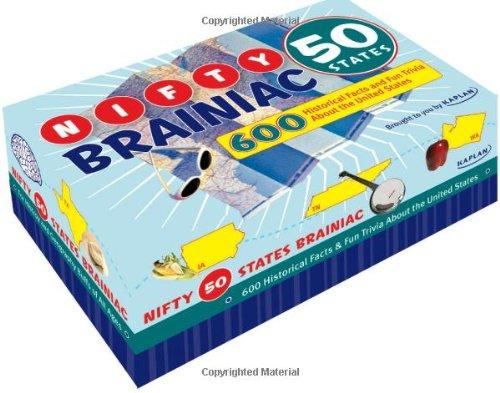 9781427797117: Nifty 50 States Brainiac: 600 Historical Facts and Fun Trivia About the United States (Kaplan Brainiac)