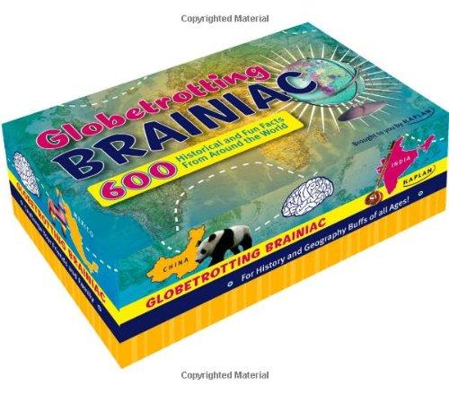 9781427797124: Globetrotting Brainiac: 600 Historical Facts and Fun Trivia From Around the World (Kaplan Brainiac)
