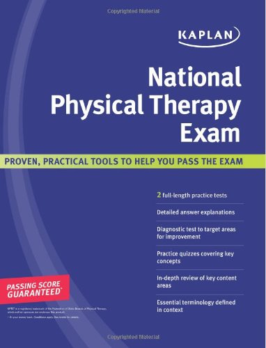 9781427797391: Kaplan National Physical Therapy Exam