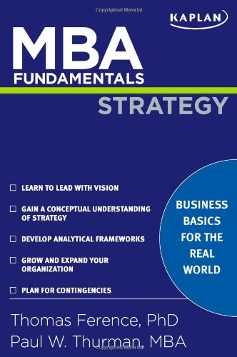 9781427797537: MBA Fundamentals Strategy (Kaplan Test Prep)