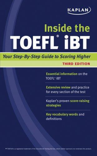 9781427797803: Inside the TOEFL iBT