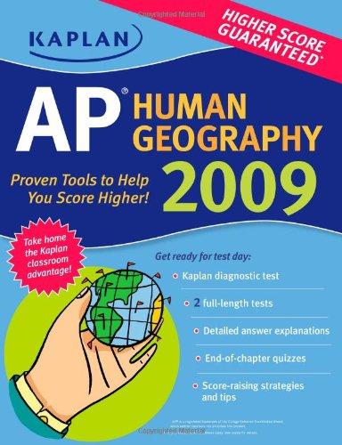 9781427798152: Kaplan AP Human Geography 2009