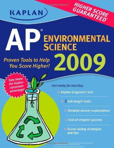 9781427798169: Kaplan AP Environmental Science 2009