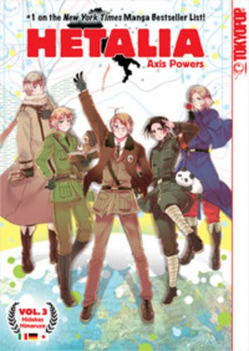 9781427818881: Hetalia Axis Powers Volume 3
