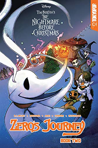 9781427859013: Disney Manga: Tim Burton's The Nightmare Before Christmas - Zero's Journey Graphic Novel Book 2