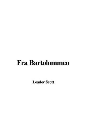 9781428001848: Fra Bartolommeo
