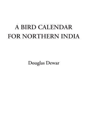 9781428023949: A Bird Calendar for Northern India