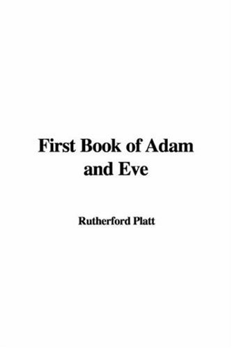 9781428042544: First Book of Adam and Eve