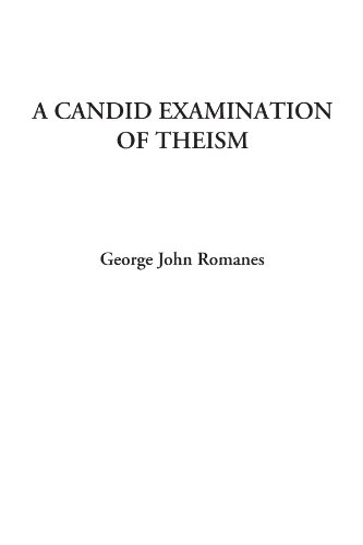 9781428050044: A Candid Examination of Theism