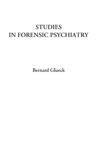 9781428051829: Studies in Forensic Psychiatry