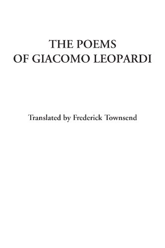 9781428053700: The Poems of Giacomo Leopardi