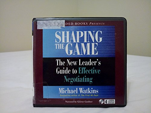 Shaping the Game (9781428170728) by Michael Watkins