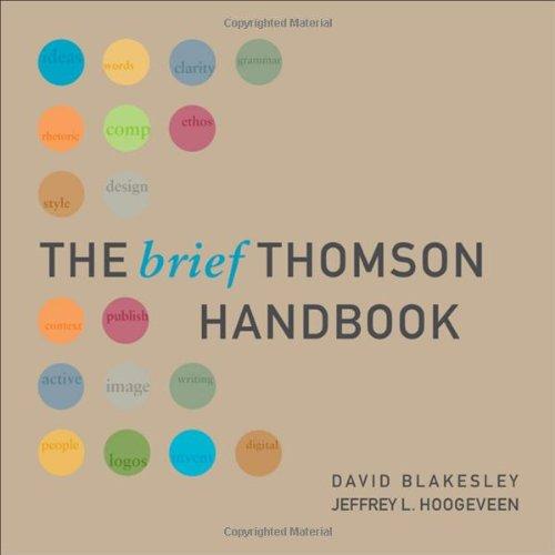 9781428205024: The Brief Thomson Handbook