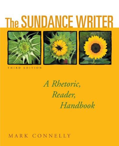 9781428208148: Bundle: The Sundance Writer: A Rhetoric, Reader, Handbook, 3rd + English 21 Plus: Methods of Development, InSite, Personal Tutor 2-Semester, InfoTrac Printed Access Card