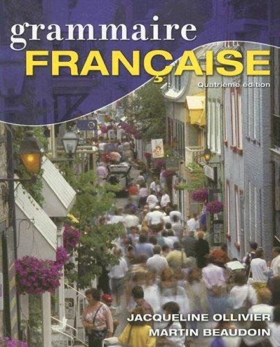 9781428229587: Grammaire Française