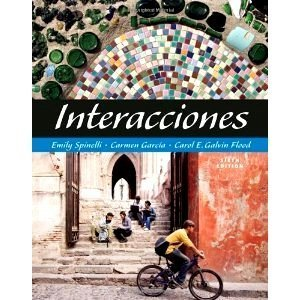 9781428229693: Interacciones:Annotated Instructor's Edition