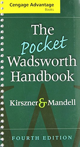 9781428229785: Advantage Books: The Pocket Wadsworth Handbook (Kirszner and Mandell's)