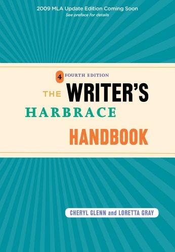 9781428230224: The Writer's Harbrace Handbook