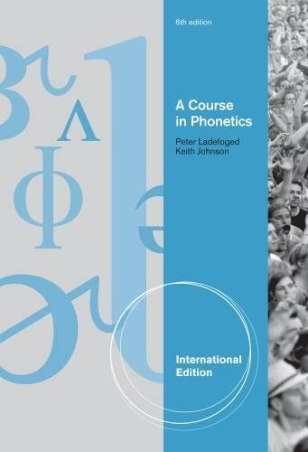 9781428231276: A Course in Phonetics