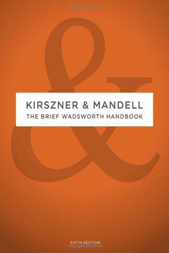 The Brief Wadsworth Handbook: Laurie G. Kirszner,