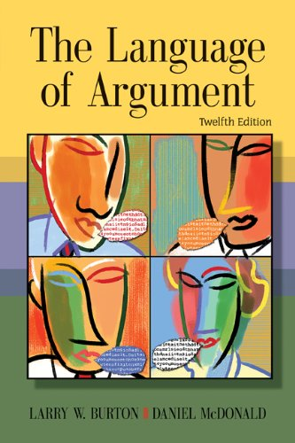 9781428250505: Bundle: The Language of Argument, 12th + Enhanced InSite Printed Access Card for Handbook