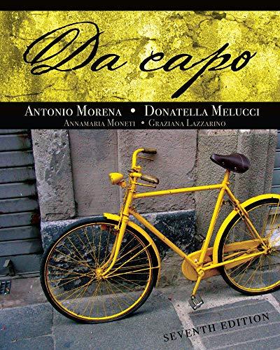 9781428262744: Da Capo (World Languages)