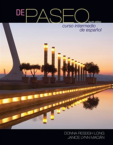 9781428262928: De paseo: Curso intermedio de espanol (World Languages)