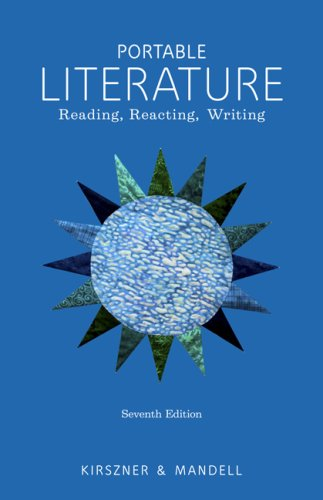 9781428262966: Portable Literature: Reading, Reacting, Writing