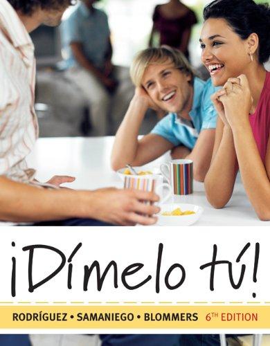 9781428280618: Bndl: Dimelo Tu Student Text/Aud CD Pkg