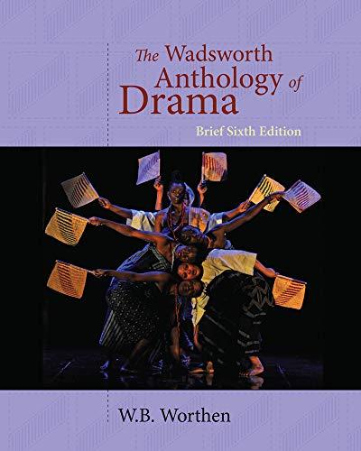 9781428288157: The Wadsworth Anthology of Drama