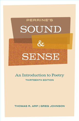 9781428289703: Perrine's Sound and Sense: An Introduction to Poetry