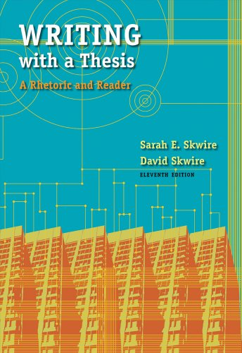 9781428290013: Writing with a Thesis